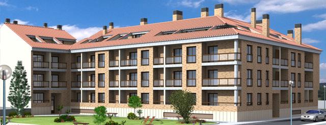 Vivienda, terrazas, pisos, locales, garajes y trasteros. Inmueble de Prodearco en la ciudad de Zaragoza